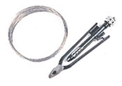Lock wire pliers
